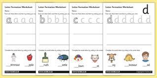 letter formation worksheets a z education home