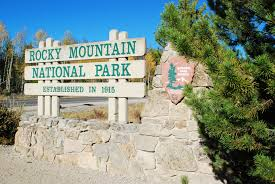 Rocky Mountain National Park Map Rocky Mountain National Park