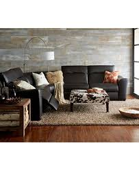 Macys Sectional Sofa Alessandro Leather Power Reclining Sectional Sofa Collection With
