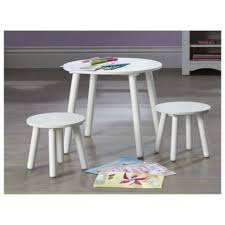 childrens table and stools tesco kids furniture kids table stools set in white diy crafts