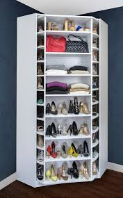 space organizers rotating storage for your closet is a great space saver find home