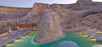 modern minimalism in the desert amangiri resort sage outdoor
