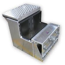 tool box step tool boxes for semi trucks bolts to the frame of yor truck