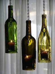 diy wine bottle candle holders pretty cool wine bottles