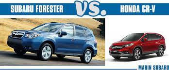 subaru forester vs honda crv 2014 subaru forester vs 2014 honda cr v vehicle comparison