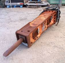 hunt tractor used psm wedge hydraulic hammer breaker for sale