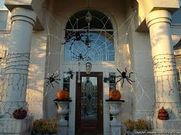 cobweb spray for halloween 31 ideas halloween decorations door for warm welcome
