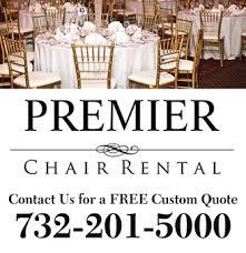 chair rental nj celebrations premier chair rental in piscataway nj