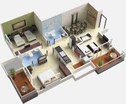 Stylish 3 Bedroom Plans Houses For Sale Homestead Double Garage