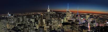 manhattan skyline manhattan skyline twilight panorama pics