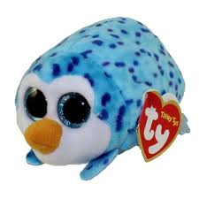 ty beanie boos teeny tys stackable plush gus penguin 4
