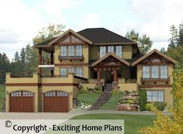 two storey house modern house garage cottage blueprints by exciting home plans
