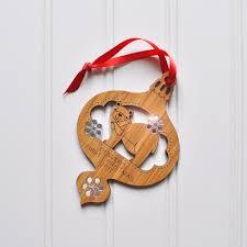 baby u0027s first christmas bear bamboo keepsake ornament 2017 limited