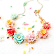 flower girl necklace images Handmade unique necklaces for girls flower girl gifts nest jpg