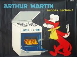 arthur martin cuisine arthur martin succès certain ées 1960 illustration de eric
