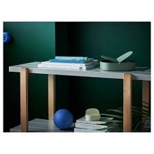 Green Desk Accessories by Ypperlig Box With Lid Green 21x20x12 Cm Ikea