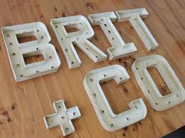 flashing lights how to make your own vintage marquee brit co