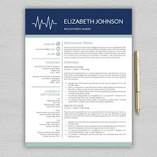 nurse resume medical cv template resume templates creative