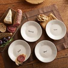 horderve plates for thought appetizer plates