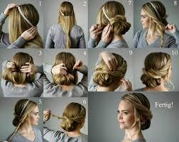 Frisuren Lange Haare Hochgesteckt by Lockere Hochsteckfrisuren Für Jeden Anlass Ideen Anleitungen