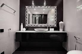 Black White And Red Bathroom Decorating Ideas Best  Red - Bathroom designs black and white