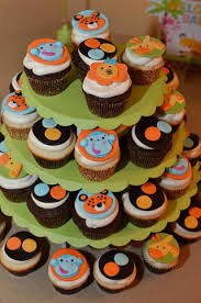 jungle theme baby shower cakes ideas horsh beirut