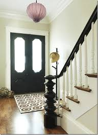 1930s Banister Painting Interior Doors Black Southern Hospitality