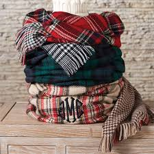 plaid blanket scarf rome inspirations