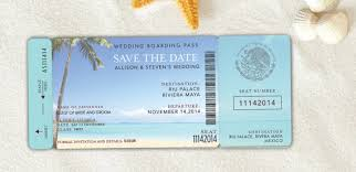 Boarding Pass Wedding Invitations Boarding Pass Save The Date Destination Wedding Invitation
