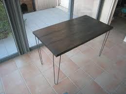 pied pour bureau un bureau avec des pieds en épingle pour chloé créations et