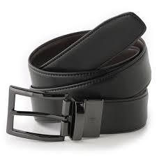 dockers reversible edge stitch leather belt