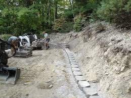 retaining wall time lapse construction youtube
