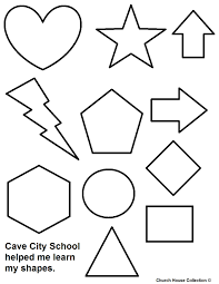 stunning coloring pages toddlers shapes ideas with shape itgod me