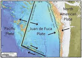 physical map of oregon juan de fuca plate axial seamount expedition 2015 myth busting