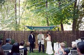Small Backyard Wedding Ideas Popular Backyard Wedding Ideas With Image 5 Of 20