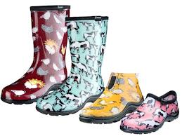 groupon s boots sloggers farm print s garden shoes and boots on sale price