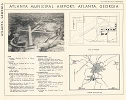 Atlanta Airport Map Delta by Mapping The History Of The Atl Northing U0026 Easting