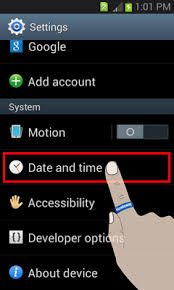 phone settings android how to change the time on my android phone