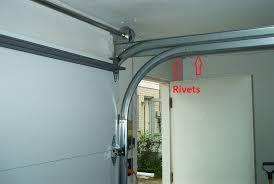 Overhead Door Track Converting From Low Headroom Tracks To High Lift Dan S