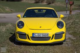 yellow porsche 911 gt3tour meet the racing yellow porsche 911 991 gt3