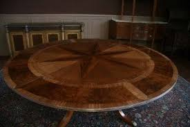 Big Dining Room Tables Large Round Dining Table Seats 10 Foter