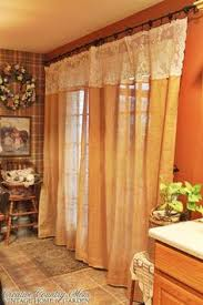Burlap Looking Curtains Creative Country Mom U0027s Sewing Burlap And Lace Curtains