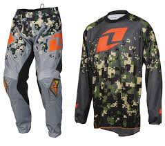 one industries motocross gear one industries atom motocross mx kit digital camo charcoal