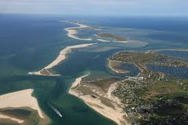 Cape Cod In April - chatham breach update new june 2017 aerials this view is looking