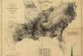 map of us states based on population these maps reveal how slavery expanded across the united states