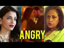 Jaya Bachchan Hot Pics - jaya bachchan calls aishwarya rai shameless hot scene ae dil hai