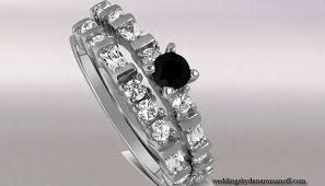 cheap unique engagement rings black diamond wedding rings sets for fearless women wedding and