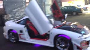 white mitsubishi eclipse mitsubishi eclipse 1998 fully custom youtube