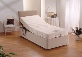 quality 3ft electric bed single adjustable bed with memory foam
