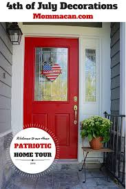 4th of july decorations patriotic home tour momma can